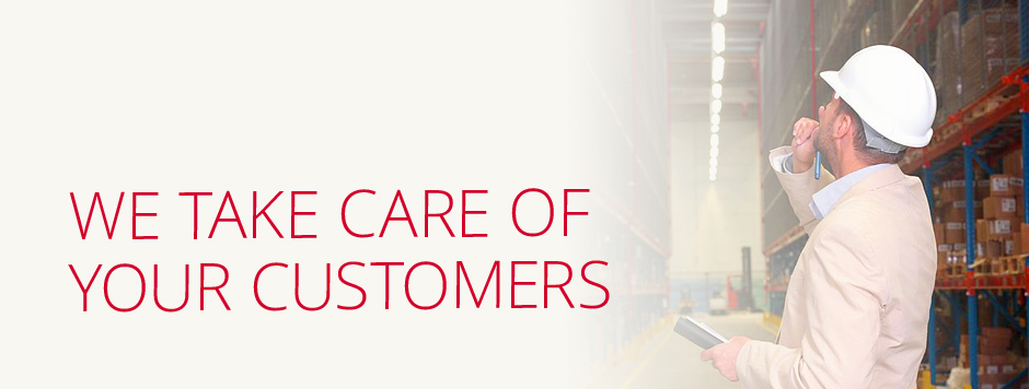 We Take Care of your Customers